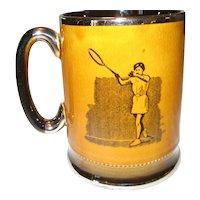 Arthur Wood England Tennis Mug