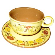 Taylor, Smith & Taylor Indian Summer Cups and Saucers - 7 Available