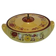 Taylor Smith & Taylor Indian Summer Covered Oval Serving Bowl