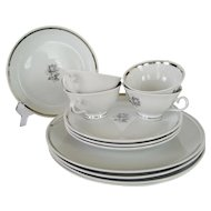 12 Pieces Tru-tone Princess China Cameo Rose