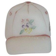 Fenton Hand Painted Girl's Ball Cap