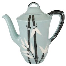 Weil Ware Black Bamboo Coffee Pot