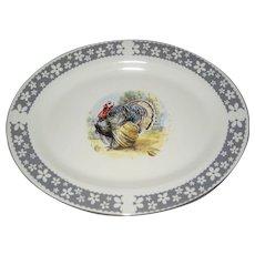 Homer Laughlin Turkey Platter