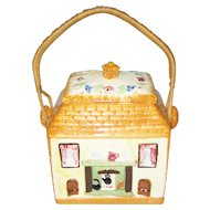 Maruhon Ware Occupied Japan - Tea Caddy