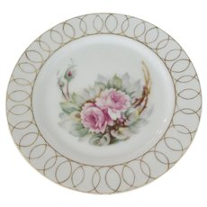 Occupied Japan Small Flowered Plate