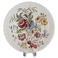 Vernonware May Flower Salad Plates - 13 Available