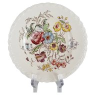 Vernonware May Flower Bread and Butter Plates - 12 Available