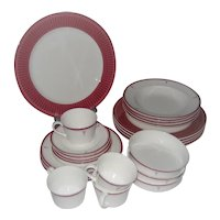 Lenox Rittenhouse Square Dinnerware - 24 Pcs.