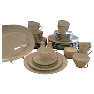 Noritake Colmar 46 Pc. Dinnerware - Platinum Trim