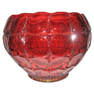 Indiana Glass Tiara Constellation Sunset Bowl