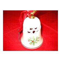 Lenox Christmas Holly Bell