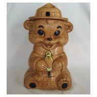 Twin Winton Smokey Bear Cookie Jar