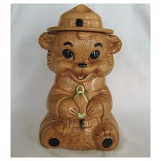 Twin Winton Smokey Bear Cookie Jar