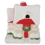 Christmas House Music Box - White Christmas