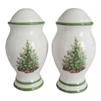 "Christopher Radko ""Holiday Celebrations"" Salt & Pepper Shakers"