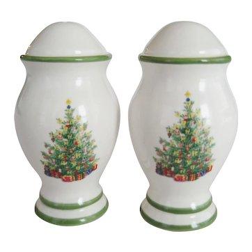 "Christopher Radko ""Holiday Celebrations"" Salt & Pepper Shakers"