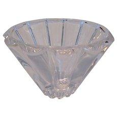 Rosenthal Fluted Crystal Bowl/Vase
