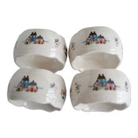 Set of 4 International Heartland Napkin Rings