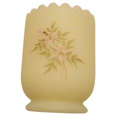 Fenton Pink Blossom Toothpick Holder