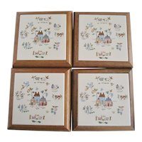 Set of 4 International Heartland Trivets