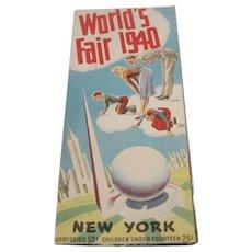 1940 World's Fair New York Map