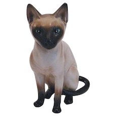Lefton Siamese Cat Figurine