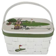 Caro-Nan Golf Themed Purse