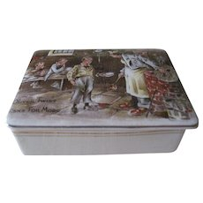 "Sandland Ware ""Oliver Twist Asks For More"" Trinket Box"