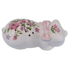 Avon Pig Shaped Powder Shaker