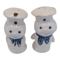 Vintage Pillsbury Doughboy S & P Shakers