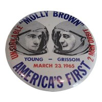 NASA Molly Brown First Two Man Orbit Pin