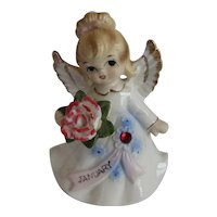Lefton January Birthday Angel