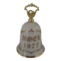 Gorham China 1977 Noel Christmas Bell