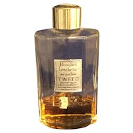 Vintage2 oz  bottle of Lentheric Tweed Perfume