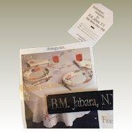 B. M Jabara Villeroy & Boch Amapola Tablecloth MIB