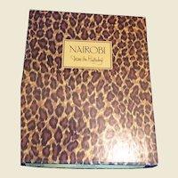 Diane Von Furstenberg  Nairobi Animal Print Vintage Stationery MIB