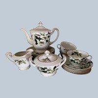 Mieto China Dogwood pattern 20 piece tea dessert set
