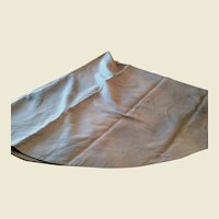Beautiful light Blue Neiman Marcus round linen Tablecloth