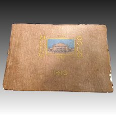 1913 Anaheim Union High School Blue and Gold Yearbook Annual