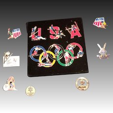 2002 Olympic OOAK Pin Collection Salt Lake City
