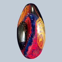 David Lindsay Art Glass Underseas Adventure Paperweight