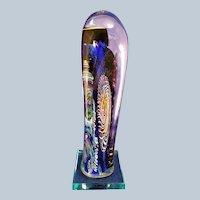 Henry Vitra Art Glass sculpture