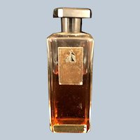 1940s bottle of Lanvin Arpege Perfume 75% full