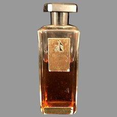 1940s bottle of Lanvin Arpege Perfume 75% full