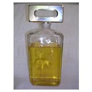 "Giant 11 1/2"" Evyan White Shoulder Factice Perfume Bottle"