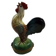 Crowing Rooster Limoges Box