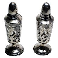 Sterling Mexico Salt and Pepper Shakers