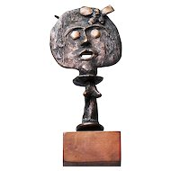 Vintage Bronze Fertility Figure