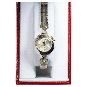 14K Solid Yellow Gold Lady's Hamilton Wristwatch