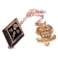 Fraternity / Sorority Pin  10K Kappa Delta Phi